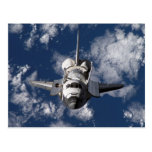 Space Shuttle in Orbiting Earth Post Cards