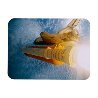 Space Shuttle in Space 2 Rectangular Magnet