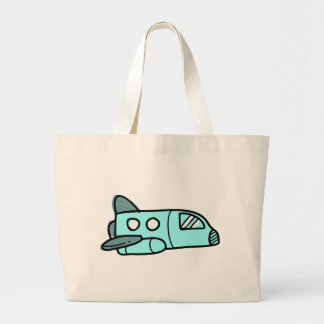 Space Shuttle Large Tote Bag