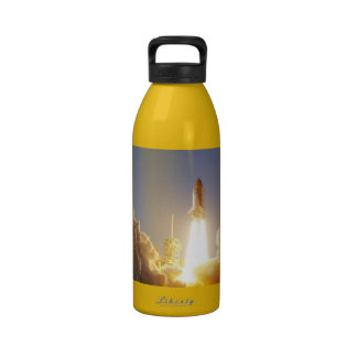 Space Shuttle Launch Liberty Water Bottle