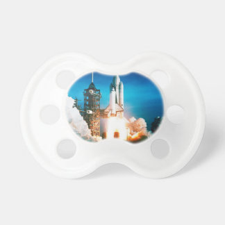 SPACE SHUTTLE LAUNCH PACIFIERS