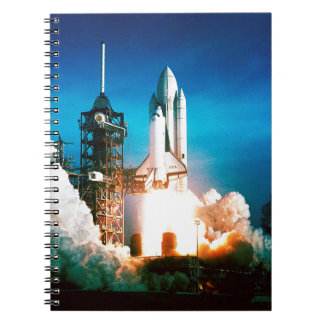 SPACE SHUTTLE LAUNCH SPIRAL NOTE BOOK