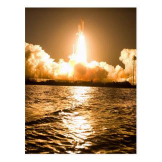 Space Shuttle Lift Off Postcard