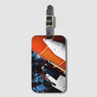 Space Shuttle Luggage Tag