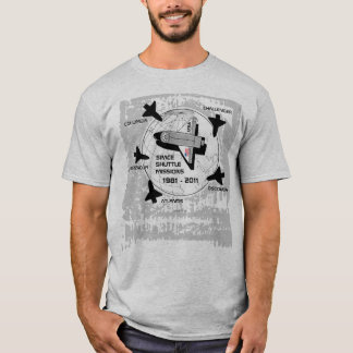 Space Shuttle Missions T-Shirt 6