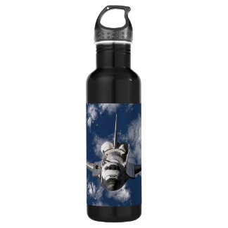 Space Shuttle Orbiting Earth 710 Ml Water Bottle
