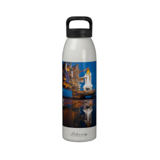 Space Shuttle Ready For Launch Reusable Water Bottles