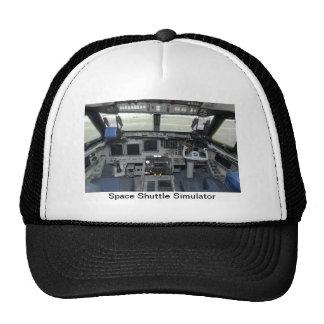 Space Shuttle Sim Aircraft Cockpit Mesh Hats