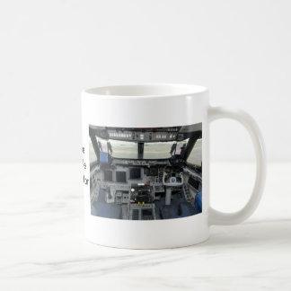 Space Shuttle Sim Aircraft Cockpit Mug