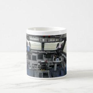 Space Shuttle Sim Aircraft Cockpit Coffee Mugs