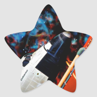 Space Shuttle Star Sticker