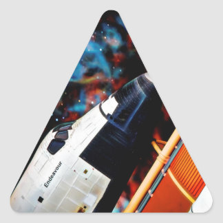 Space Shuttle Triangle Sticker