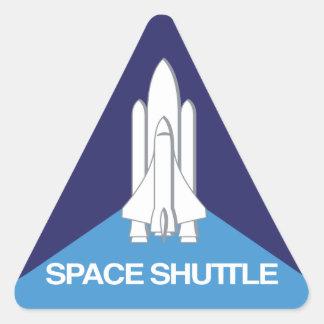 Space Shuttle Triangle Triangle Sticker