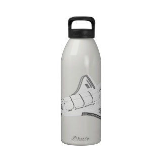 Space Shuttle Reusable Water Bottle