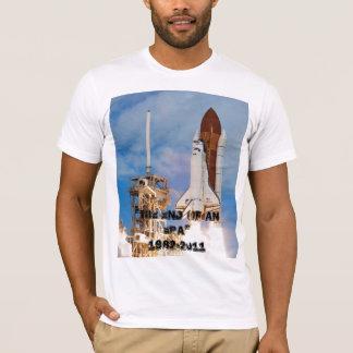 Space shuttles final flight T-Shirt