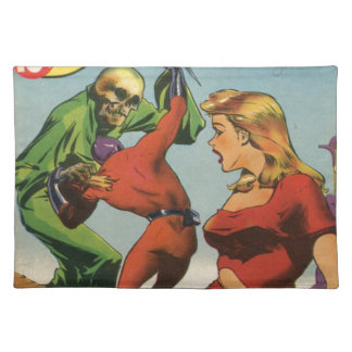 Space Skeleton Place Mats