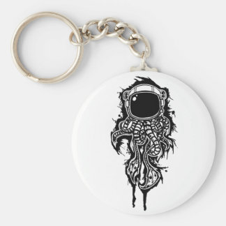 space squid key chain
