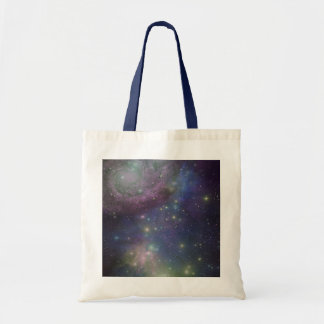 Space, stars, galaxies and nebulas tote bag