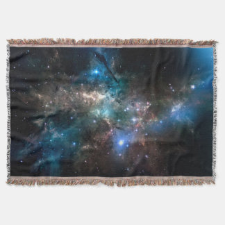 SPACE STARS THROW BLANKET