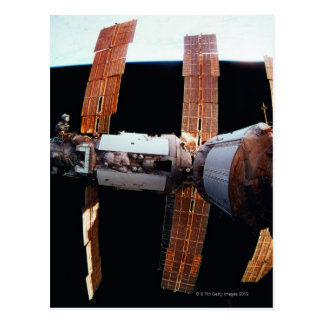 Space Station in Orbit 3 Postcard