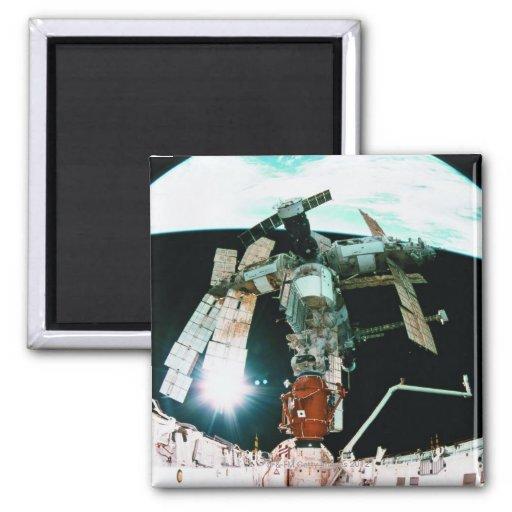 Space Station Fridge Magnet