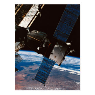 Space Station Orbiting Earth 6 Postcard
