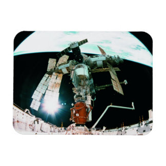 Space Station Rectangular Magnets