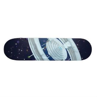 Space Station Skate Board Deck