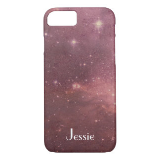 Space style design iphone 7 case (add your name!)