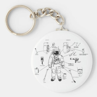 space suit keychain