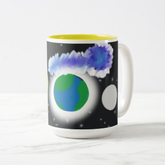 Space: The Unknown Two-Tone Coffee Mug