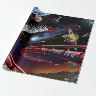 Space Thrills Roller Coaster
