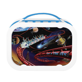 Space Thrills Roller Coaster Lunchboxes