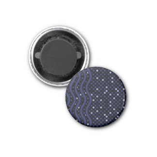 Space Time Blue, magnet Fridge Magnets