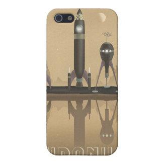 Space travel poster to uranus iPhone 5/5S case