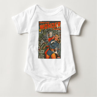 Space Travelers Attacked by Tentacle monster Baby Bodysuit