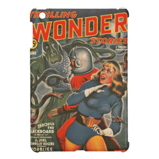 Space Travelers Attacked by Tentacle monster Cover For The iPad Mini