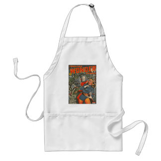 Space Travelers Attacked by Tentacle monster Standard Apron