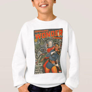 Space Travelers Attacked by Tentacle monster Sweatshirt