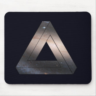 Space Triangle Mousepad