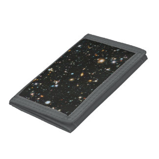 Space TriFold Nylon Wallet  The classic tri-fold