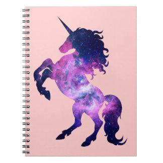 Space unicorn note books