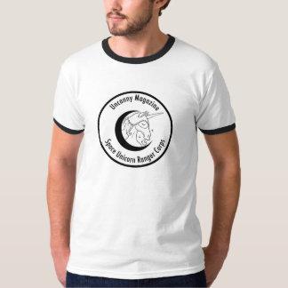 Space Unicorn Ranger Corps Ringer T Tshirt