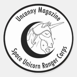 Space Unicorn Ranger Corps sticker