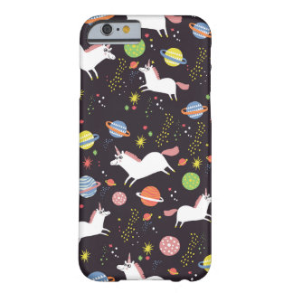 space unicorns barely there iPhone 6 case