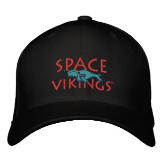 Space Vikings Hat Embroidered Cap
