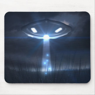 Space visitors mouse pad
