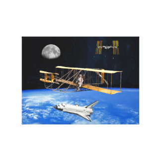 SPACE VOYAGERS CANVAS PRINT