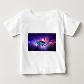 space whale baby T-Shirt