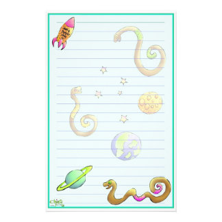Space Woims Stationery~ Stationery